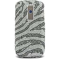 HTC G2/ Magic /My Touch Rhinestone Zebra Case