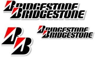 Bike Stickers /Decals Sponsor Bridgestone