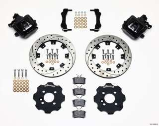 KIT,COMPLETE,MINI COOPER,BMW,BLACK CALIPERS,12 DRILLED ROTORS