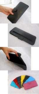 colorful multi color checkbook purse wallet soft light cards holder