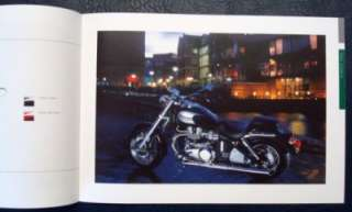 TRIUMPH CLASSIC MOTORCYCLE RANGE SALES BROCHURE 2002.