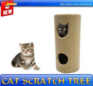 New Kitty Cat Tree Condo Post Cat Scratcher Tower Toy Climber Pet