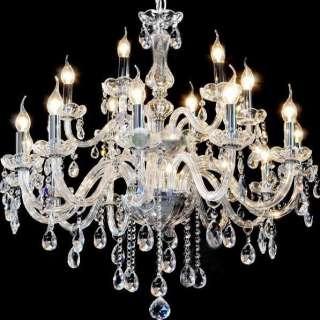 15 Light Modern Crystal Chandelier Chandeliers lamp