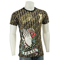 Christian Audigier Mens Faith T shirt