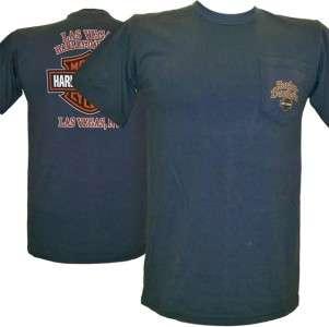 Harley Davidson Las Vegas Dealer Tee T Shirt GRAY MD