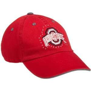 NCAA Womens Ohio State Buckeyes Bling Cap (Red, One Size