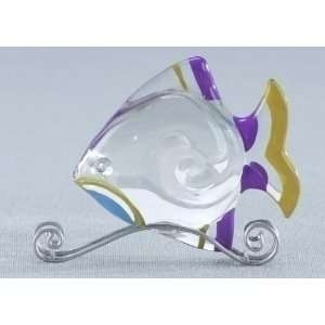 Cotton Candy Fish Collectible Glass Figurine #59046