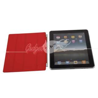 Smart Cover Slim Magnetic PU Leather Case Stand Wake Up Sleep for iPad