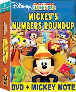 Clubhouse Mickeys Numbers Round Up Gift Set (DVD)