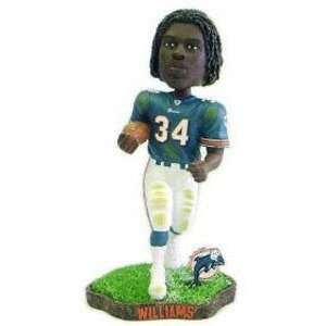 Ricky Williams Game Worn Forever Collectibles Bobblehead