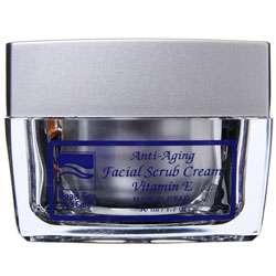 Dead Sea Spa Anti Aging Facial Scrub Cream (1.7oz)