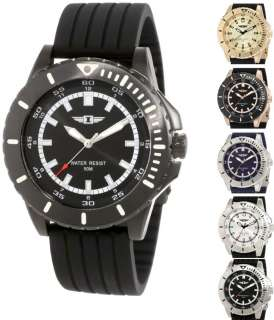 Invicta I 10004 Stainless Steel Case Silicone Strap Mens Watch   6