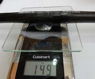 Scott Black Magic carbon MTB flat bar 25.4mm 149 grams!