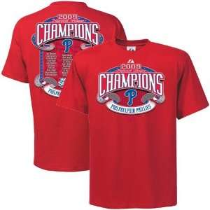 Youth 2009 National League Champions Finest Roster T Shirt Sports