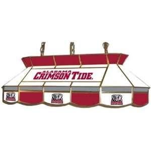 Alabama Crimson Tide   College Stained Glass Tear Drop