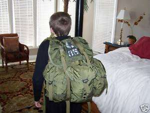 medium alice combat back pack army boy scouts w straps