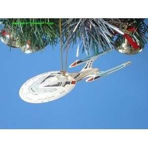 CHRISTMAS ORNAMENT *SP TREE STAR TREK ENTERPRISE 1701 E