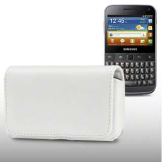 BELT CASE/COVER FOR SAMSUNG GALAXY M PRO B7800   WHITE
