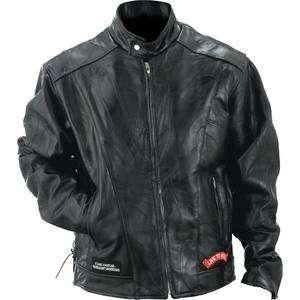 Genuine Buffalo Leather Motorcycle Jacket Mens Jacket Mens Coat Black
