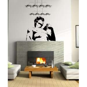 Wall Mural Vinyl Sticker Michelangelos David A445
