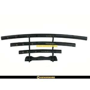 4pc Yakuza Japanese Shirasaya Samurai Katana Sword Set