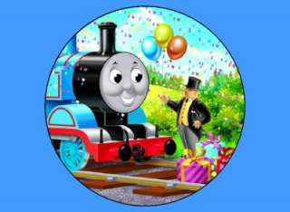 Thomas the Train Birthday Edible Image Cake Topper