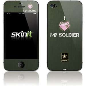 I Heart My Soldier Green skin for Apple iPhone 4 / 4S