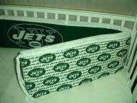 Baby Nursery Crib Bedding Set w/ NY New York Jets NFL |