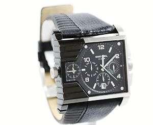 Diesel Mens Chronograph Black Time/Date Watch DZ4185 NEW