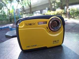 16MP max underwater digital camera, IPX8 waterproof, HD720p, 4X zoom