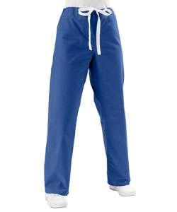 Medline Unisex Reversible Sapphire Scrub Pants