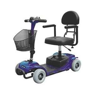 Falcon 4 Wheel Portable Travel Scooter with Comfortable Padded Seat