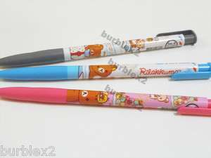 San X Rilakkuma Ball Pen (Korea exclusive) (Black, Blue, Red)