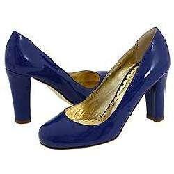 Juicy Couture Samantha Neon Blue Patent Pumps/Heels   Size 8.5
