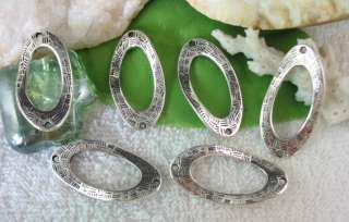 20pcs Tibetan silver oval link connector FC10446