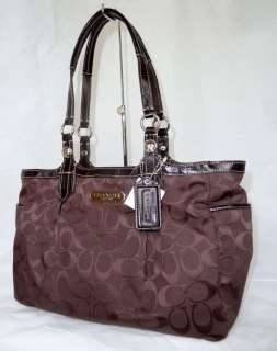 NWT COACH EAST/WEST GALLERY SIGNATURE TOTE BAG 15146 |