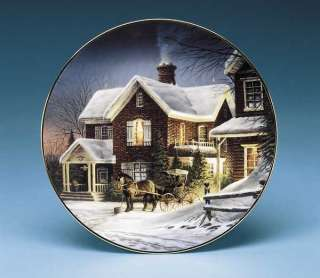 Terry Redlin HOUSE CALL Collector Plate Country Doctor Series