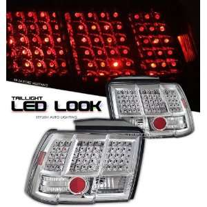 00 01 02 03 04 FORD MUSTANG LED STLYE TAIL LIGHT GT CHROME Automotive