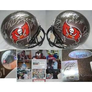 2002 Tampa Bay Buccaneers Hand Signed Replica Helmet