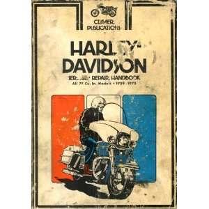 Harley Davidson service repair handbook, sportster series