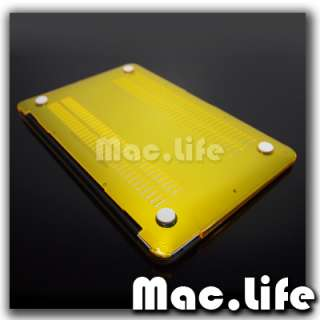 YELLOW Crystal Hard Case Cover for new Macbook Air 11