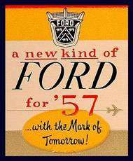 Ford Motor Company Press Release