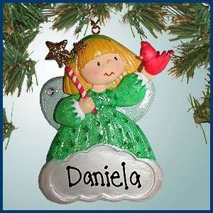 Personalized Christmas Ornaments   Blonde Angel Ornament