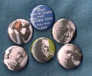 Charles Bukowski,Pins,Buttons,Badges,Black Metal,Death Metal,Punk Rock