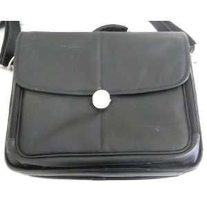 Dell 17 Leather Messenger Bag Laptop Case Electronics