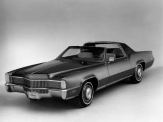 Cadillac Eldorado Biarritz Town Coupe, Show Car with Landau Type Roof