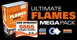 FLAMES CLIPART VINYL CUTTER PLOTTER CLIP ART VECTOR CD