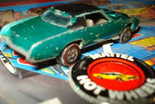 Vintage Diecast 1968 Mattel Hong Kong Hot Wheels Redline Custom