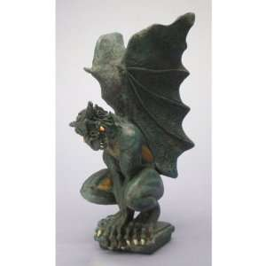 Dark Evil Dragon Gargoyle Statue Sculpture Figurine: Home & Kitchen