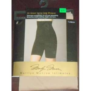 MARILYN MONROE SEAMLESS HI WAIST LONG LEG SHAPER L/7 Cafe